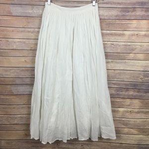 Pins And Needles White Maxi Skirt
